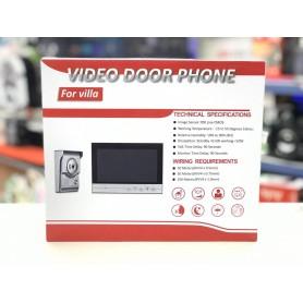 PORTERO VISOR ELECTRICO PANTALLA 7 PULGADAS CON CAMARA VIDEO DOOR PHONE JK-X70R SEISA