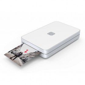 MINI IMPRESORA PORTATIL LIFEPRINT FOR IPHONE BLUETOOTH 2X3 + 220 PACK FOTOS