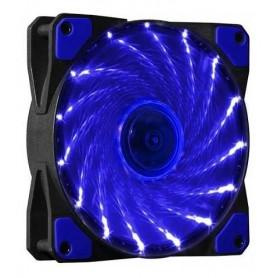 COOLER FAN 120MMX120MM HW12X01 BLUE 33 LEDS AZUL
