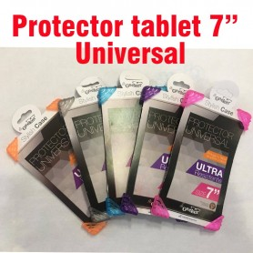 "Protector universal tablet 7"" stylish case varios colores"