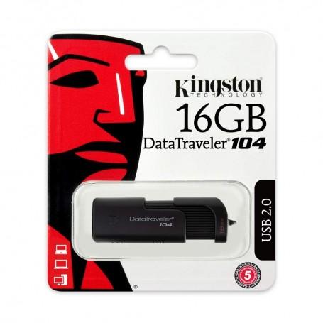 PEN DRIVE 16GB KINGSTON DATATRAVELER 104 USB 2.0