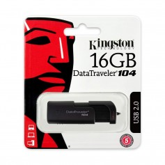 PEN DRIVE 16GB KINGSTON DATATRAVELER 104 USB 2.0