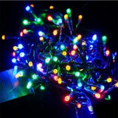 Luces Navidad Led Por 100 Multicolor