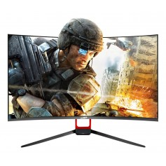 MONITOR 27 GAMER SENTEY CURVO FULL HD 1080 165HZ 1MS HDMI X3 DISPLAYPORT MS-2711 CON PARLANTES R1800