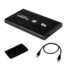 CARRY DISK 2.5 USB 3.0 CABLE MICRO USB NEGRO 3.1