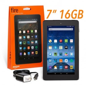 TABLET 7 AMAZON KINDLE FIRE QUADCORE 1.3GHZ 1GB 16GB WIFI DUAL BAND ALEXA EXPANDIBLE HASTA 512GB