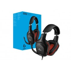 AURICULAR GAMER G332 LOGITECH CON MICROFONO LEATHERETTE