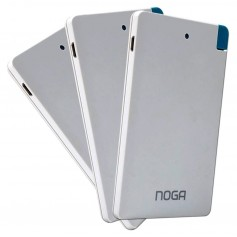 CARGADOR PORTATIL NOGA PB-25 3000MAH POWER BANK CELULAR TABLET