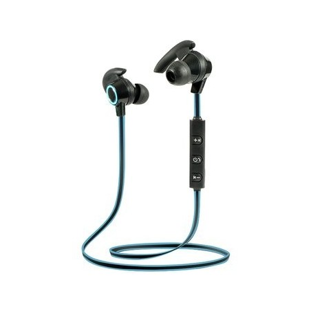 AURICULAR BLUETOOTH DEPORTIVO SPORTS LIVIANO 4HS CON MICROFONO AU 151 AMW-810