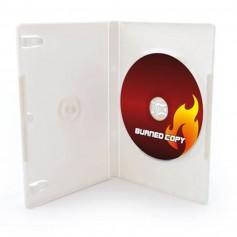 CAJA DVD SIMPLE BLANCA