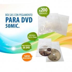 BOLSITA SOBRE NYLON DVD X200