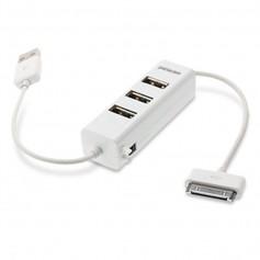 HUB USB 3 PUERTOS PANACOM + DOCK CONECTOR HB-1250