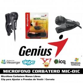 MICROFONO GENIUS MIC-01C CORBATERO