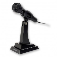 MICROFONO DE PIE REGULABLE CON BASE NOGA MIC-M5