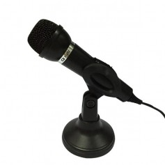 MICROFONO PARA PC T-20 CON CABLE Y BASE MULTIMEDIA MICROPHONE DINAX