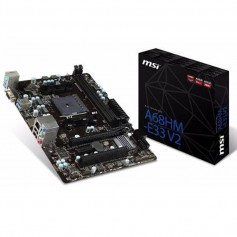 MOTHER MSI A68HM-E33V2 HDMI SOCKET FM2+