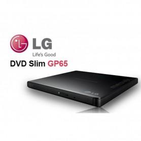 GRABADORA DVD EXTERNA USB LG 2,0 8X GP65
