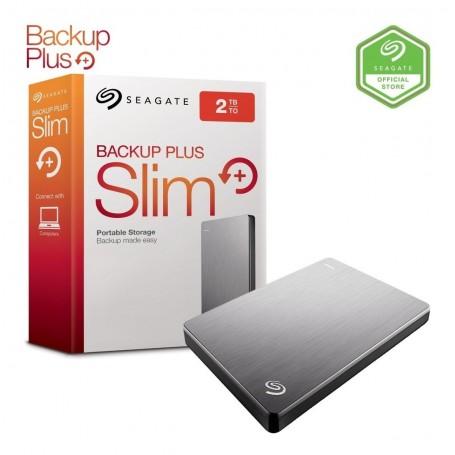 DISCO RIGIDO EXTERNO HD 2TB SEAGATE USB 3.0 BACK UP PLUS