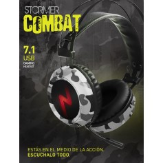 AURICULAR NOGA COMBAT 7.1 CAMUFLADO GAMER CON MICROFONO HEADSET GAMING PC PS4