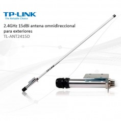 ANTENA EXTERNA OMNI DIRECTIONAL TL-ANT2415D 15DBI 2,4GHZ