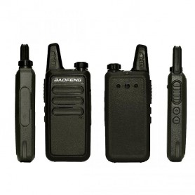 HANDY BAOFENG WALKIE TALKIE MINI SLIM BR-R5 UHF 2W 16 CANALES