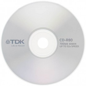 CD VIRGEN TDK 52X