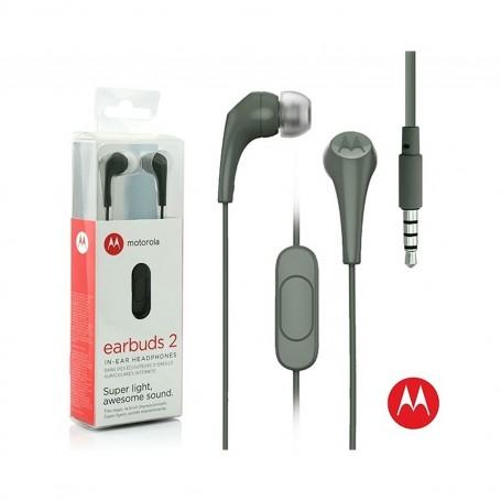 AURICULAR IN EAR MOTOROLA MANOS LIBRES EARBUDS 2 3.5MM OLIVA