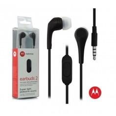 AURICULAR IN EAR MOTOROLA MANOS LIBRES EARBUDS 2 3.5MM NEGRO