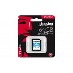 MEMORIA SD 64GB CANVAS GO KINGSTON 4K V30 90MB/S U3