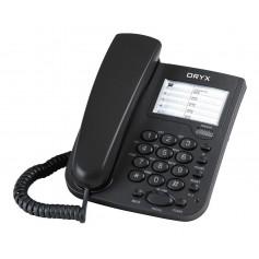 Telefono De Mesa Oryx Phone Alambrico Diferentes Funciones Pausa Remarcado Volumen Kxt-922