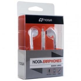 AURICULAR IN EAR NOGA NG-5448 MANOS LIBRES BUDS BLANCO