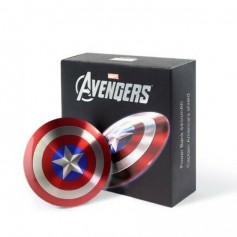 CARGADOR PORTATIL POWER BANK CAPITAN AMERICA MARVEL METAL 6800mAh 2 USB