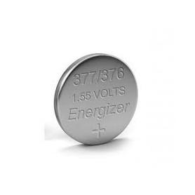 PILA ENERGIZER DE RELOJERIA 377/376 SR6262 1.55V 0% MERCURIO
