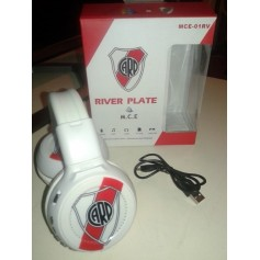 AURICULAR MULTIMEDIA MCE-01RV RIVER PLATE CON BATERIA MP3
