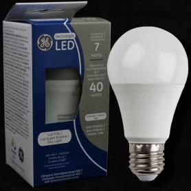 LAMPARA BULBO LED ROSCA E27 7W LUZ DIA GENERAL ELECTRIC