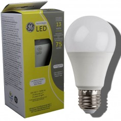 LAMPARA BULBO LED ROSCA E27 13W LUZ CALIDA GENERAL ELECTRIC