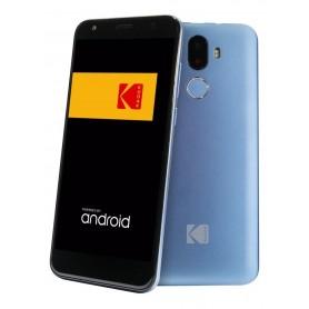"""CELULAR LIBRE KODAK T1 HUELLA DUAL CAM 1GB RAM 16GB DUAL CAMARA 5MPX PANTALLA HD 5,5"""" QUAD CORE BLUE"""