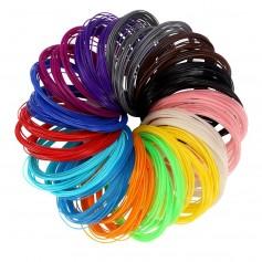 Filamentos Para Lapiz 3D De Colores 5 Metros