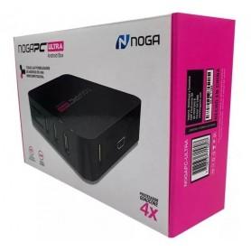 SMART TV BOX NOGA ULTRA 2GB RAM 16GB 4K SISTEMA DE VOZ HDMI Y RCA