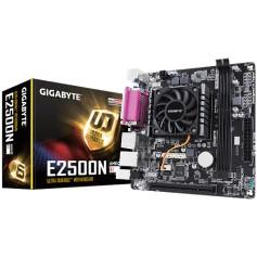 MOTHER AMD GIGABYTE E2500N + MICROPROCESADOR E1-2500 DUAL CORE VIDEO HD RADEON 8240