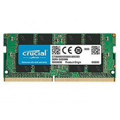 MEMORIA SODIMM DDR4 16GB 2666MHZ 1.2V CL19 NOTEBOOK CRUCIAL