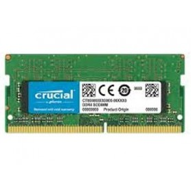 MEMORIA SOSIMM DDR4 8GB 2666MHZ 1.2V CL19 NOTEBOOK CRUCIAL