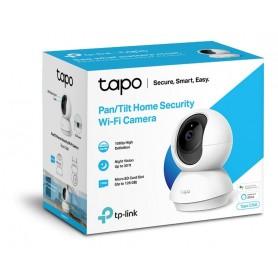 CAMARA IP TP-LINK C200 TAPO SEGURIDAD WIFI 360 FULL HD NOCTURNA MOVIMIENTO SD