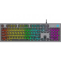 TECLADO GAMING RETROILUMINADO HP K-500 HEWLETT PACKARD KEYBOARD GAMER