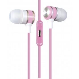 AURICULAR CON MICROFONO IN EAR PANACOM MANOS LIBRES REFORZADO COLORES VARIOS HP-9528