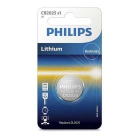 PILA CR2025 3V PHILIPS 2025 MOTHER LITHIUM BATERIA