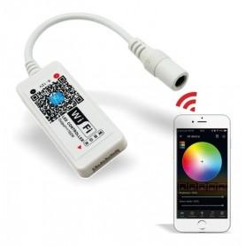CONTROLADOR TIRAS DE LED RGB WIFI APP CELULAR
