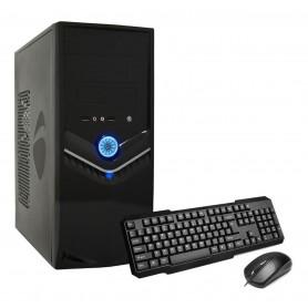 GABINETE PC KIT UNDERWOOD 2803 TECLADO + MOUSE + FUENTE 500W