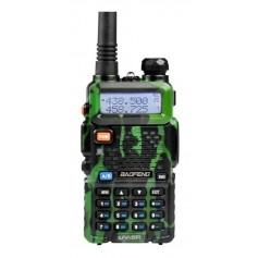 HANDY BAOFENG UV-5R CAMUFLADO BIBANDA VHF UHF VOX 255 CANALES