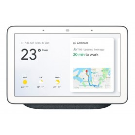 GOOGLE HOME HUB PANTALLA 7 SMART ASISTENTE VIRTUAL ESPAÑOL IOS ANDROID CASA INTELIGENTE